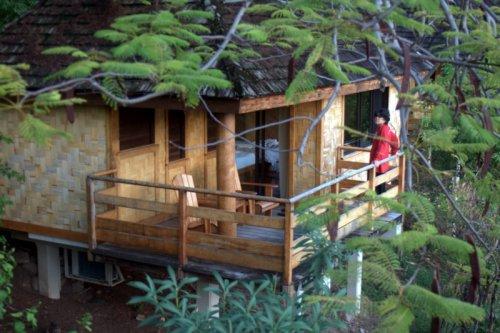 Maitu  on his deck