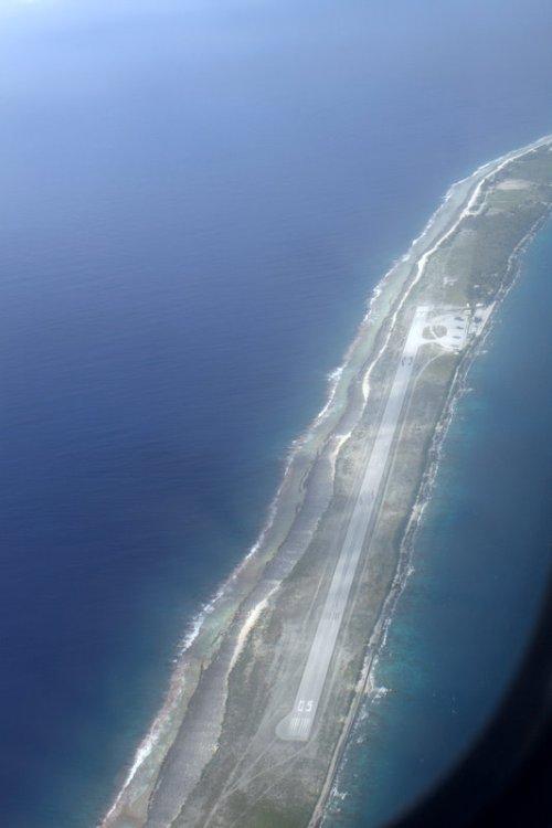 atoll landing strip