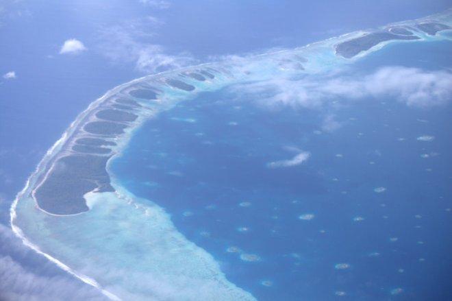an atoll