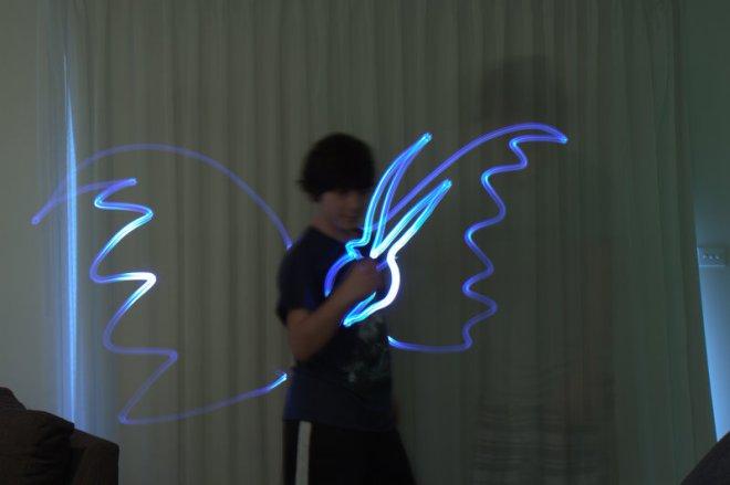 dani with wings