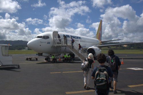 leaving Vanuatu