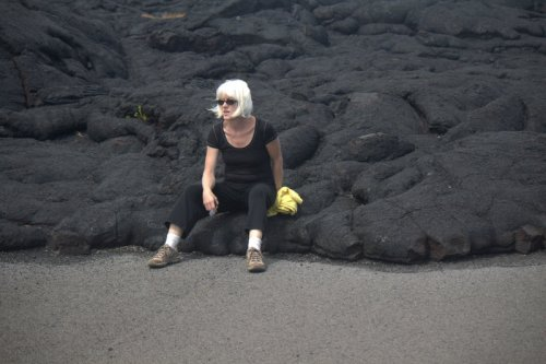 me and the lava